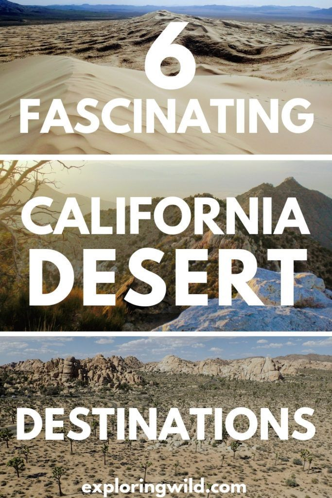 Photo of Desiertos de California: Seis destinos de viaje por carretera para aventura al aire libre   Explorando lo salvaje