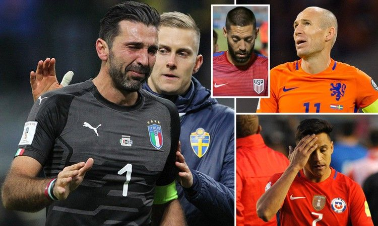 World Cup Where did it go wrong for Italy, Holland, Chile