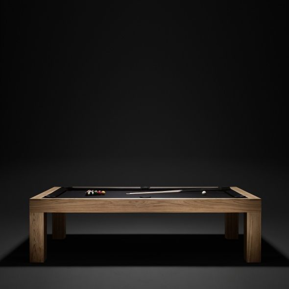 The James Perse Pool Table Is Beautifully Crafted. It Serves As Both A  Functioning Pool Table And Stunning Dinner Table, Thanks To The Included  Tabletop Co