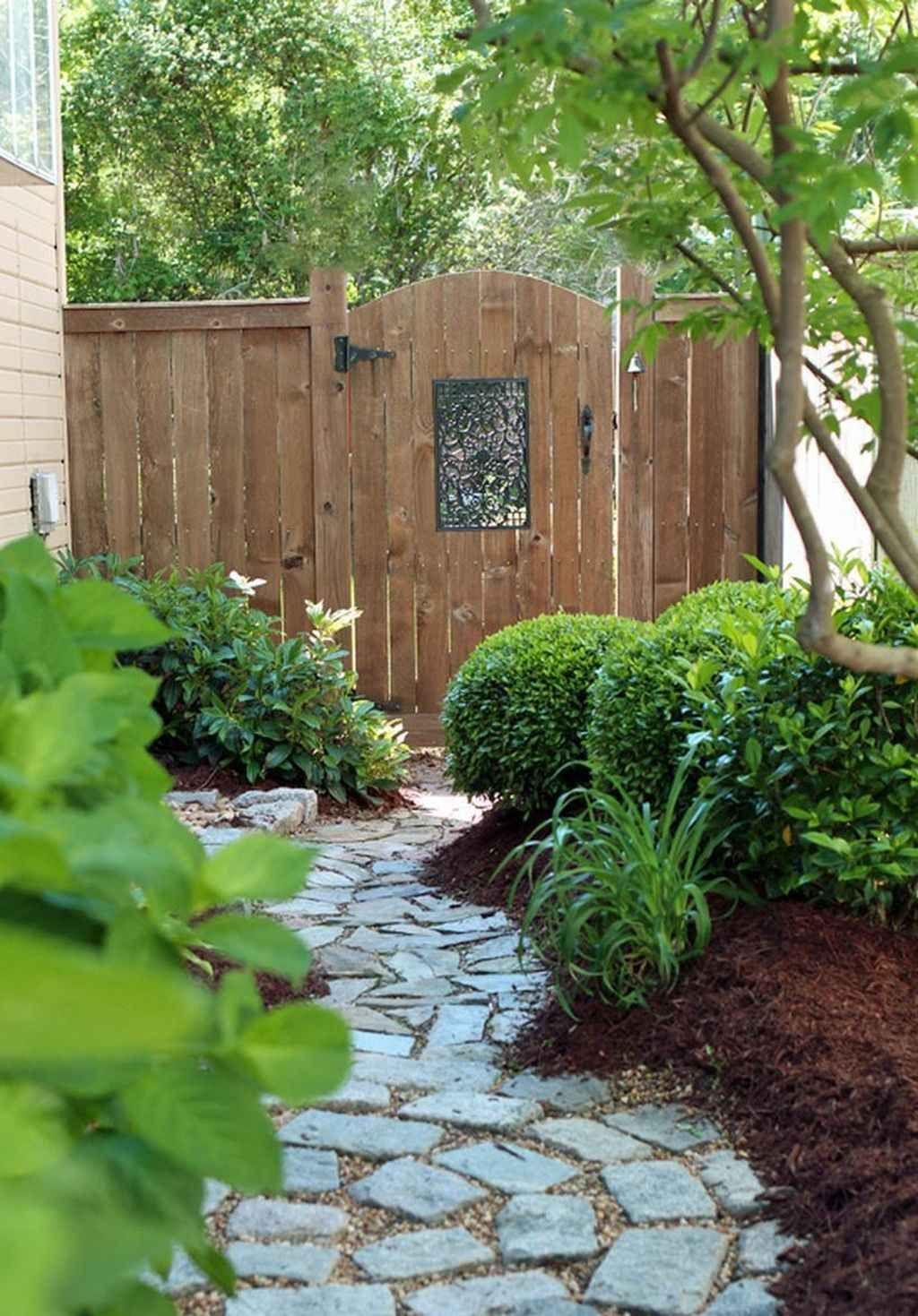 95 Fantastic Side Yard Garden Pathway Landscaping Ideas
