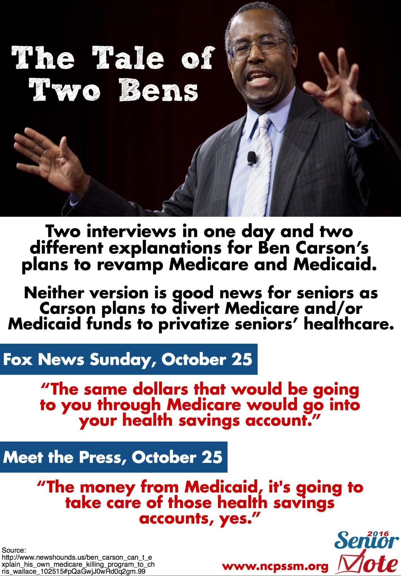 Dr. Ben Carson claims he's not like the other GOP