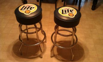 Miller Lite Bar Stools Sold Stool Sports Counter