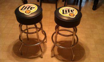 Miller Lite Bar Stools Sold
