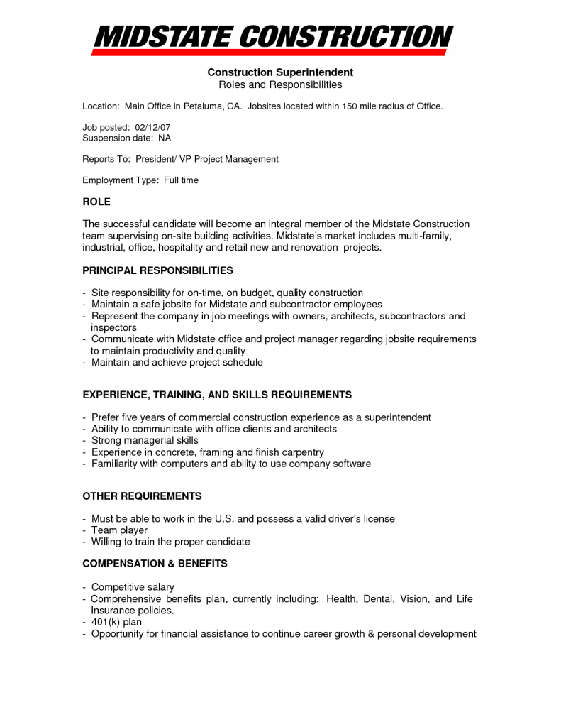 Are Some Pictures Office Manager Construction Resume Job Sample