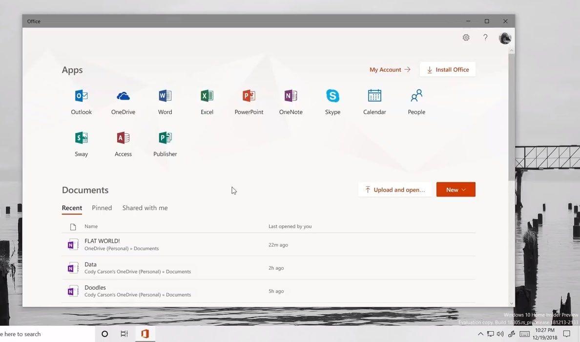 Meet Microsoft's new Office app (Progressive Web App) for