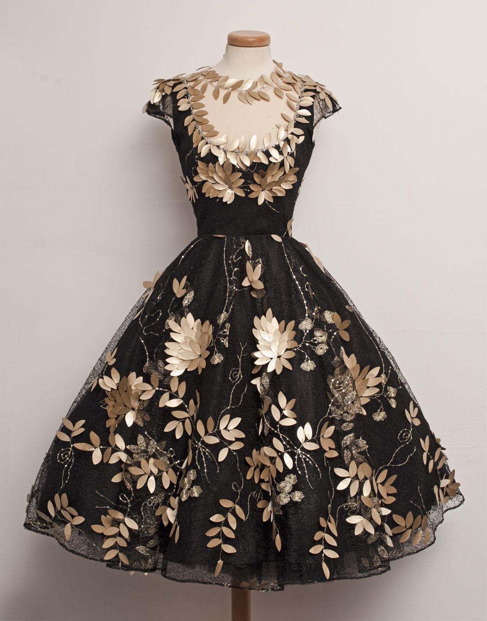 Gorgeous black vintage dress vestidos pinterest why not