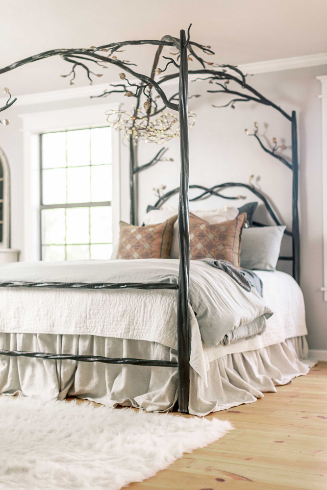 Elm Springs Wrought Iron Canopy Bed Iron Canopy Bed Canopy Bed