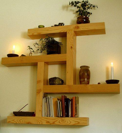Leftover-Wood-Wall-Shelf.jpg | Craft Ideas | Pinterest | Woodworking ...