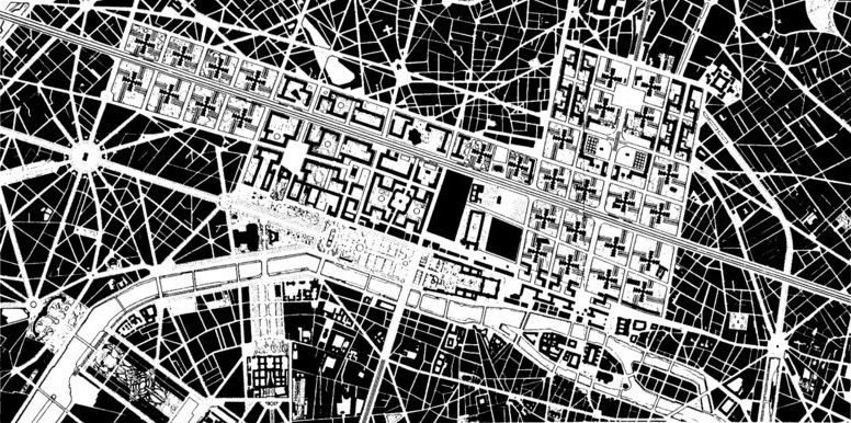 Le Corbusier, Plan Voisin, Paris, France, 1925 Urban