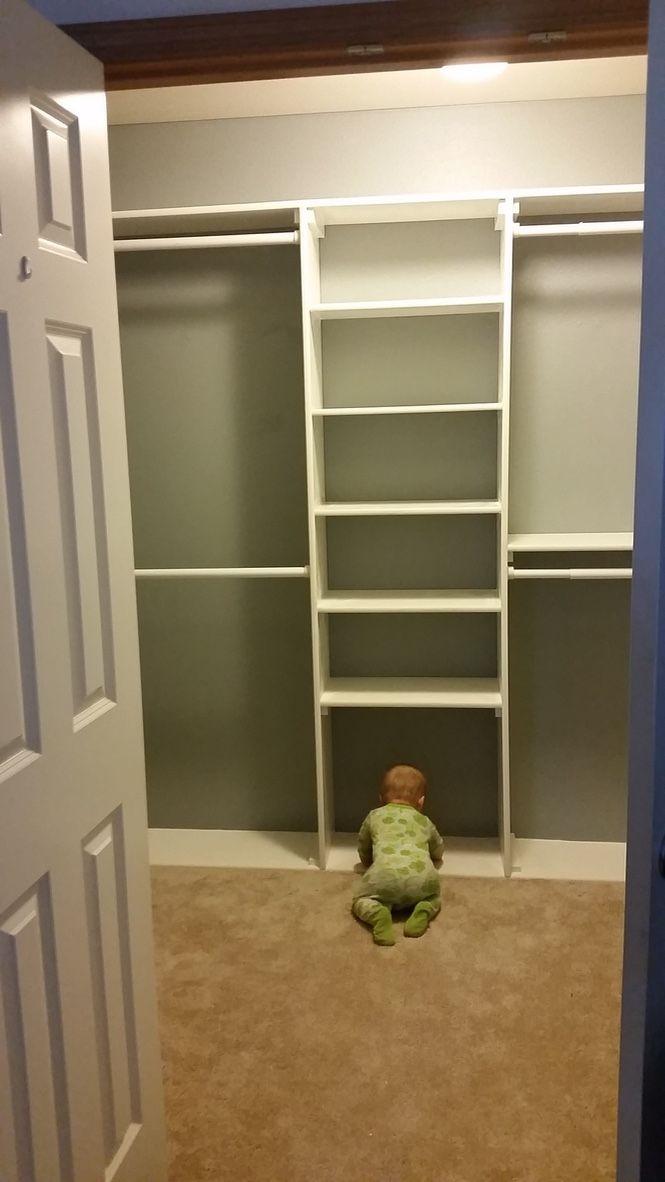 EASY DIY CUSTOM CLOSET BUILT-INS | Closet built ins, Diy ...
