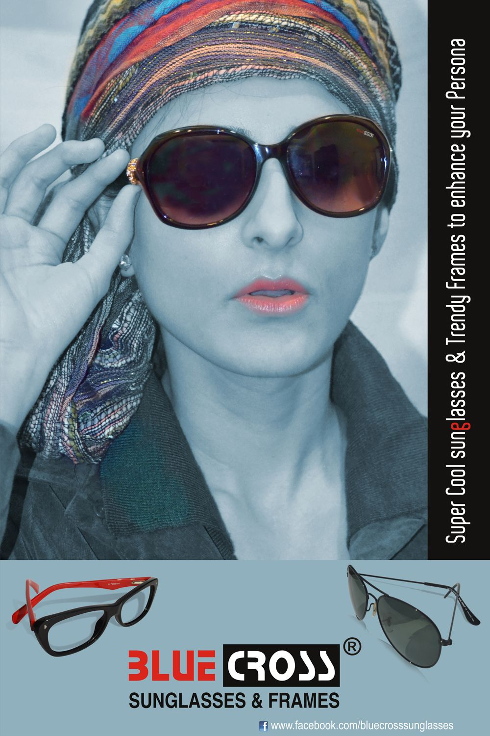 #BlueCross #BlueCrossEyewear #Sunglasses and #Frames Check out our wide range of super-cool sunglasses and trendy frames to add more colour in your 50 shades of grey!  For more details visit: http://buff.ly/1p97om3