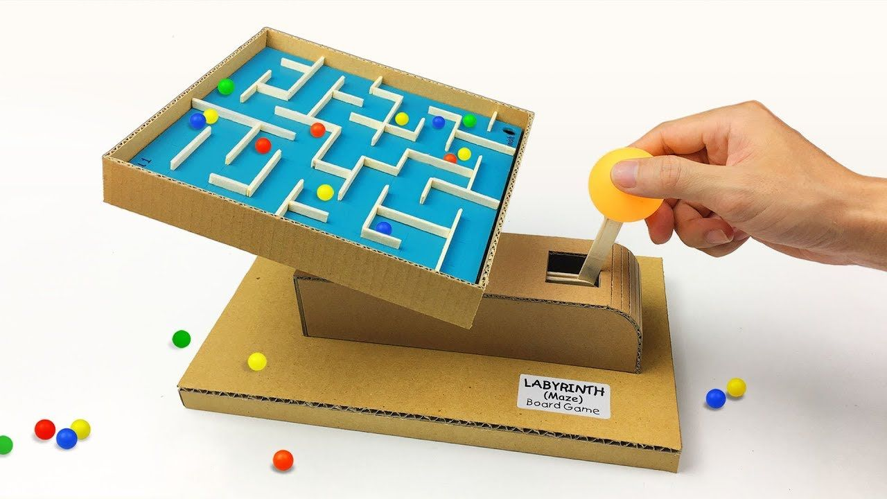 Diy Handheld Labyrinth Maze Board