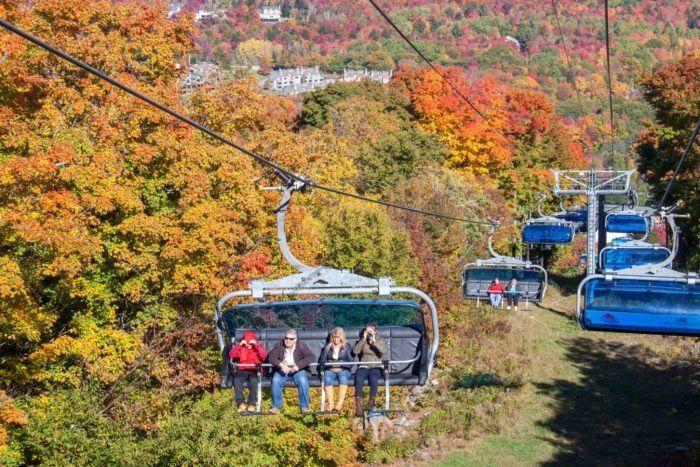 1. Mount Snow Fall foliage, Vermont, Foliage