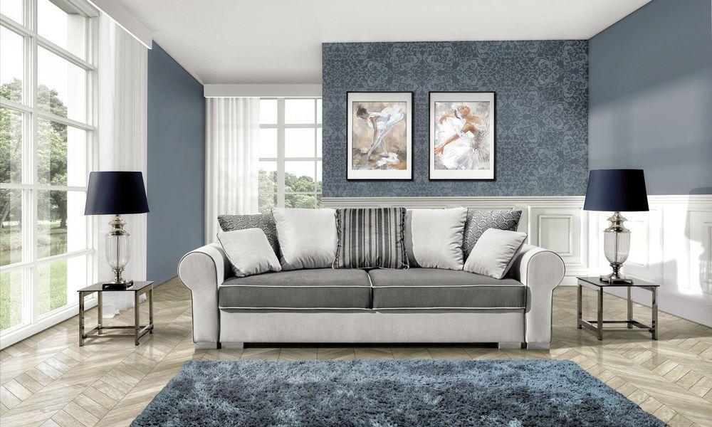 Couchgarnitur Deluxe Sofa Sofa Eckcouch Polstergarnitur
