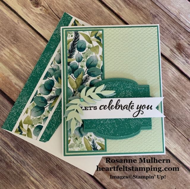New Catalog Favorite - Forever Greenery - Heartfelt Stamping