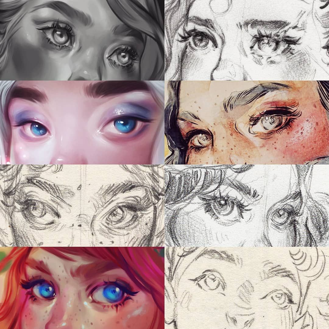 Eyememe Is Perfect Because I Just Made A Youtube Tutorial Explaining How I Draw Eyes Link In My Bio It S Informa Eye Drawing Realistic Eye Drawing Eyes Meme