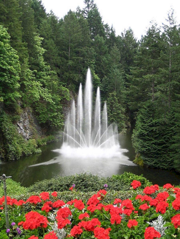 40+ Incredible Fountain Ideas To Make Beautiful Garden / FresHOUZ.com #butchartgardens