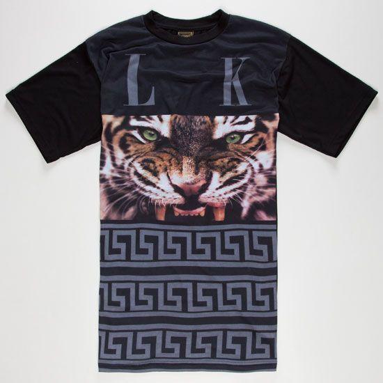 LAST KINGS Tyga Eye Mens T-Shirt 228163100 | Graphic Tees | Tillys.com #lastkings #streetwear #hiphop #tiger #eye #style
