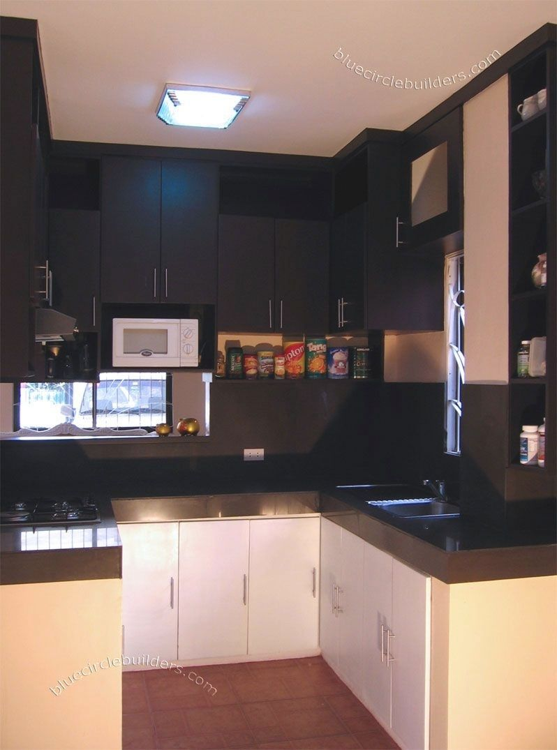 Kitchen Design For Small Spaces Philippines Simple Kitchen Design Kitchen Layout Kitchen Cabinet Design
