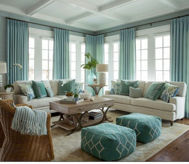 Cozy Coastal Living Room: 99 Cozy And Eye Catching Coastal Living Room Decor Ideas