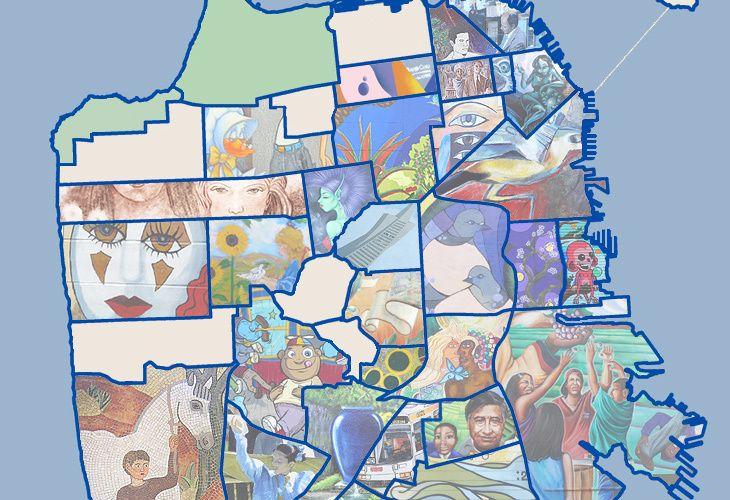 San Francisco Mural Map Illuminates Beautiful Street Art by Neighborhood
