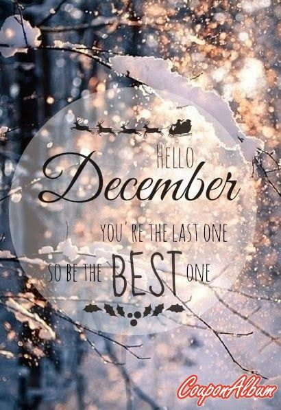 Genial Hello December. Make My Wishes Come True.