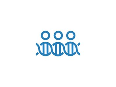 People Dna Medical Crowdfunding Logo Design Symbol Branding