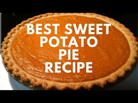 Holiday Series Best Homemade Sweet Potato Pie Recipe Cooking With Carolyn Youtube Sweet Potato Pies Recipes Sweet Potato Pie Sweet Potato Pie Southern