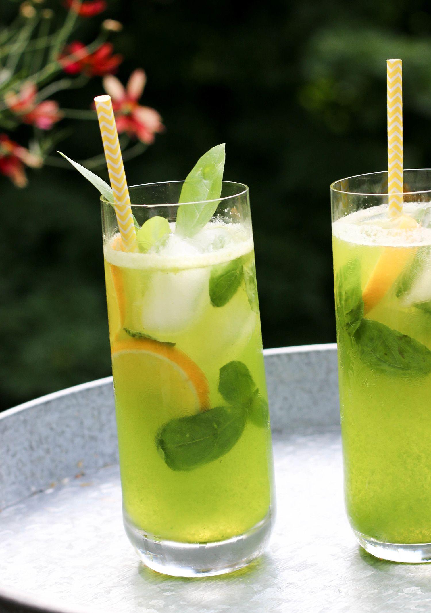 Basil Lemonade #basillemonade