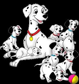 Disney Dalmations 10 Png 272 291 Disney Cartoon Characters Dalmatian Disney Art