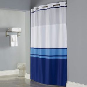 Hookless Fabric Shower Curtains With Liner