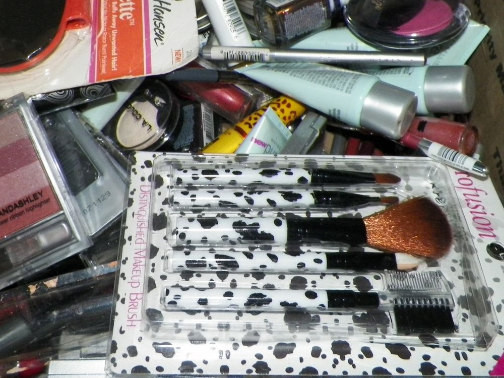 99 bulk items wholesale makeup lot eyes lips face nails and more no reserve