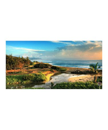 Take a look at this Kauai Hawaii Canvas Wall Art on zulily today!