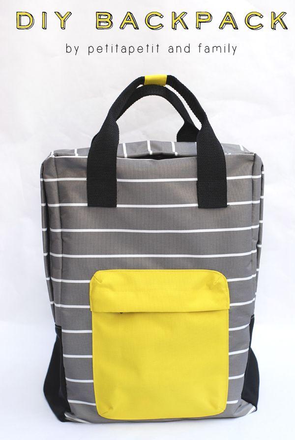 25 Bag Sewing Patterns | Reisetaschen, Hausarbeit und Nähen