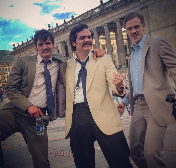 Image result for narcos cast behind the scenes