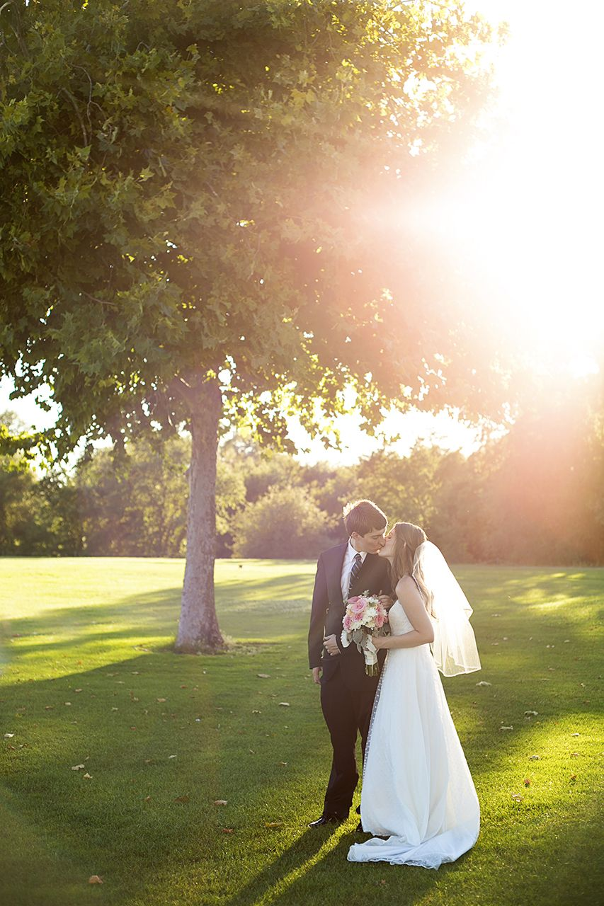 wedding receptions sacramento ca%0A Bride and Groom Sunset Portrait   Wedding Venue  The Pavilion at Haggin  Oaks in Sacramento