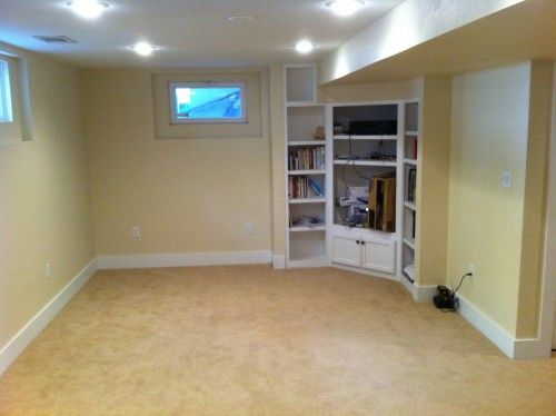 Small Basement Low Ceiling Basement Remodel Pinterest