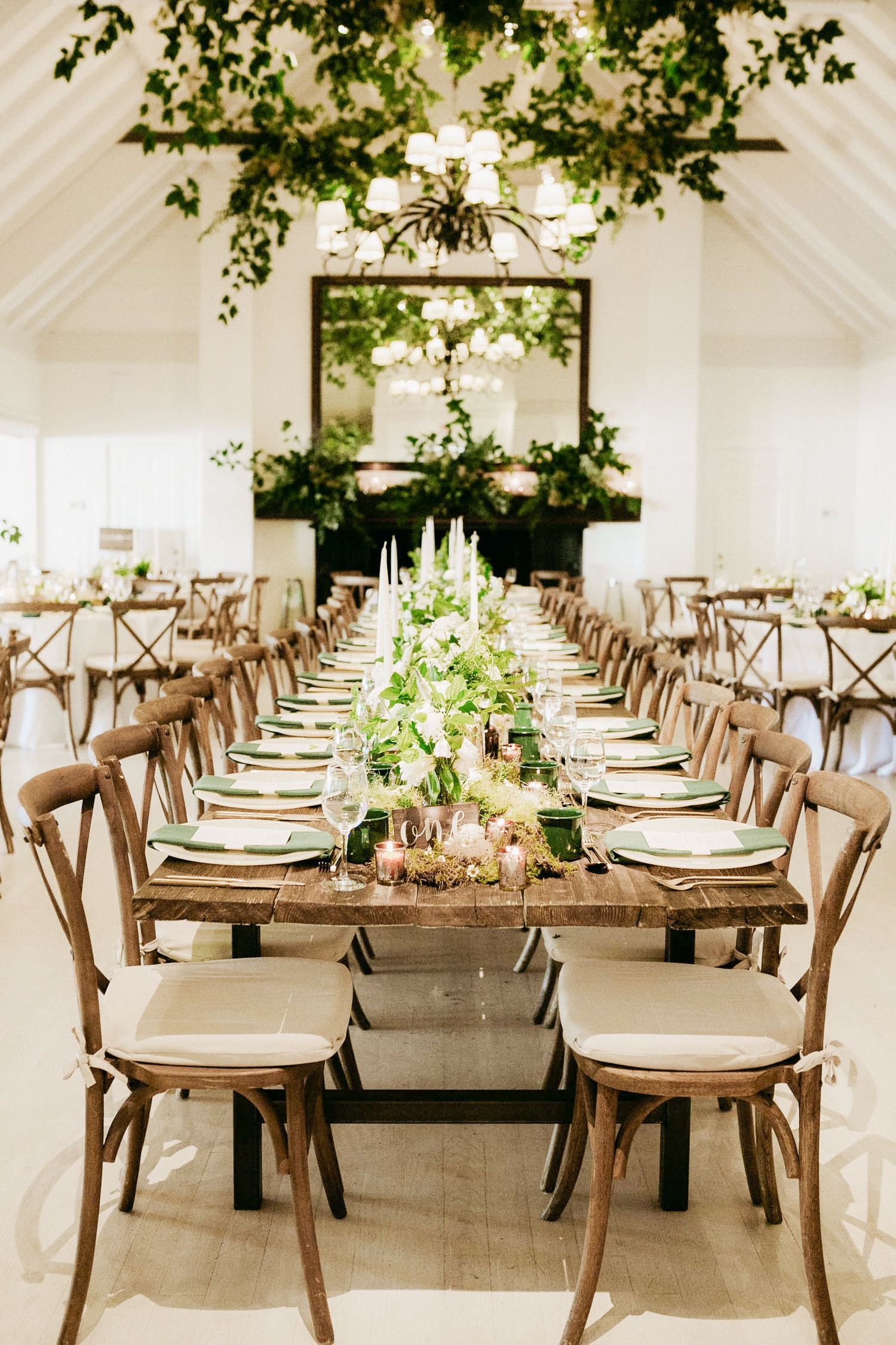 A CampThemed Wedding in Montauk, New York Green wedding