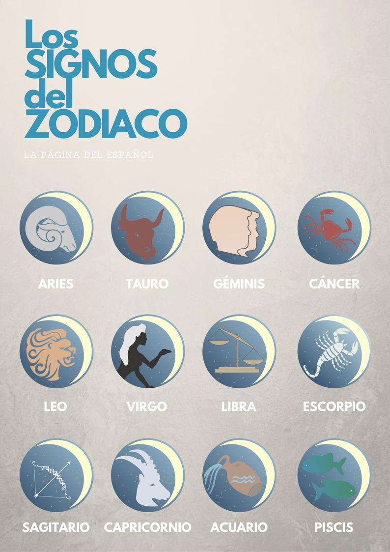 Los Signos Del Zodiaco La P Gina Del Espa Ol Horoscopo  # Muebles Dida Nicaragua