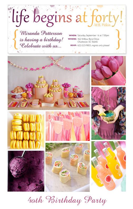 Inspiration Central Boy Birthday Party By CrinkledNose Or You Could Use The Theme As And Say Begins At 50