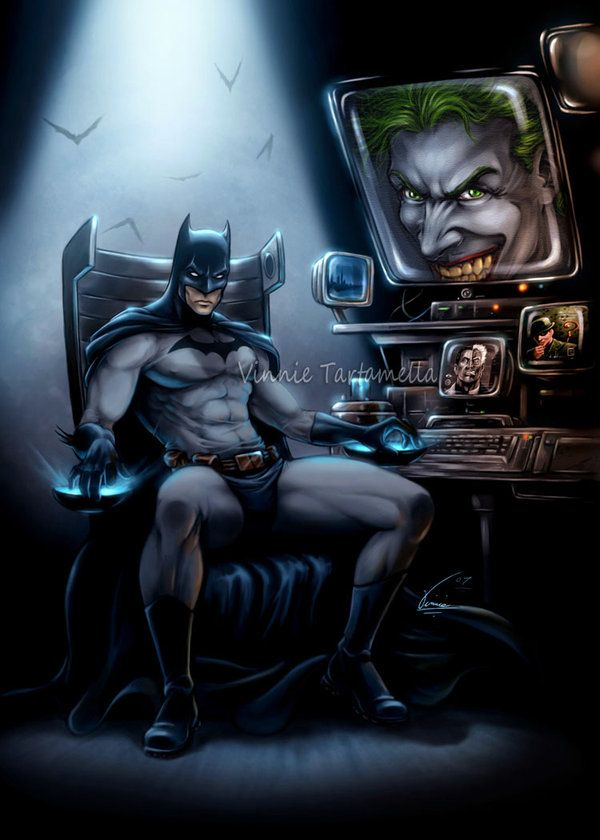 The Dark Knight by *VinRoc