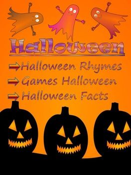 halloween activities facts rhymes games powerpoint lesson