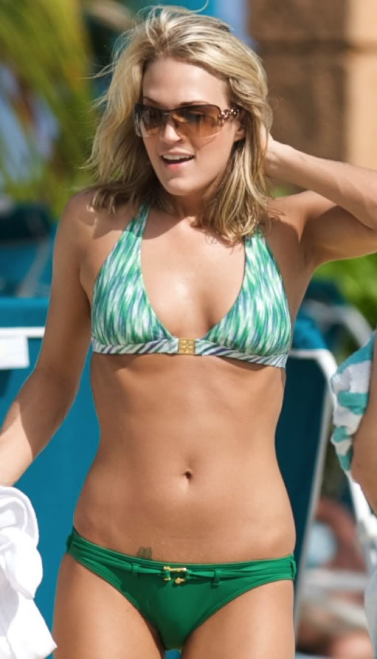 carrie underwood bikini picks
