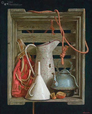 Far Away So Close Kenne Gregoire Painting Still Life Still