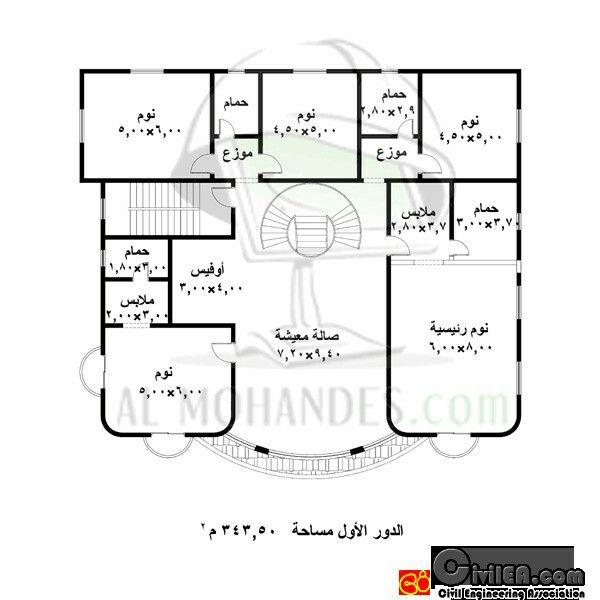 مخططات مخطط فلل فلة عماير عمارة شاليهات شالية منتجعات إنشاء مباني تصميم وهندسة معمارية معم House Layout Plans Model House Plan Classic House Design
