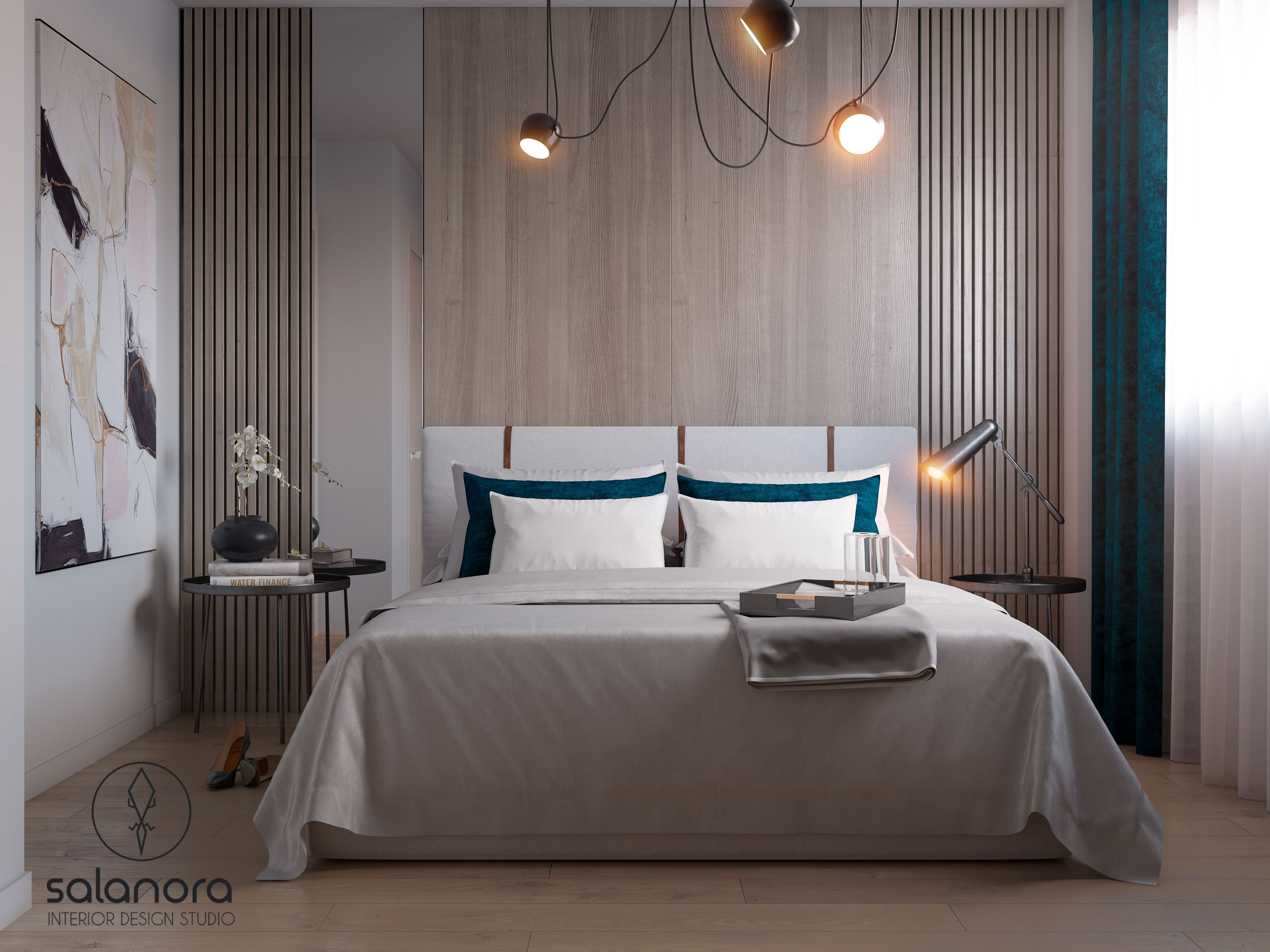 Salanora Interior Design Studio Scandinavian Style Master Bedroom Design Interior Design Bedroom Scandinavian Style Interior Design Masters Interior design bedroom images