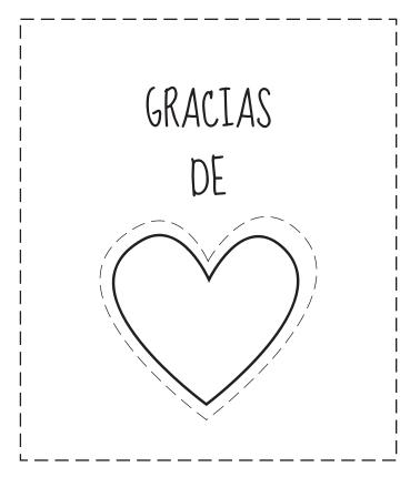 Tarjetas de gracias para colorear | Tarjetas de agradecimiento ...
