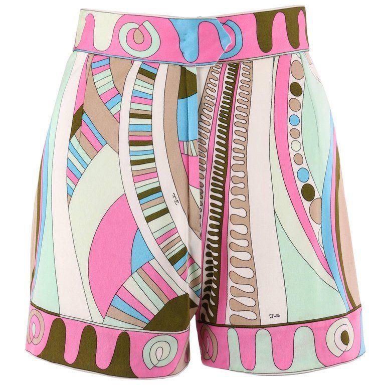 signature printed shorts - Multicolour Emilio Pucci Sale Visit New Perfect Discount Recommend xKJ8Stw