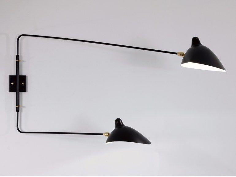 Ap2bd lampada da parete by editions serge mouille design serge
