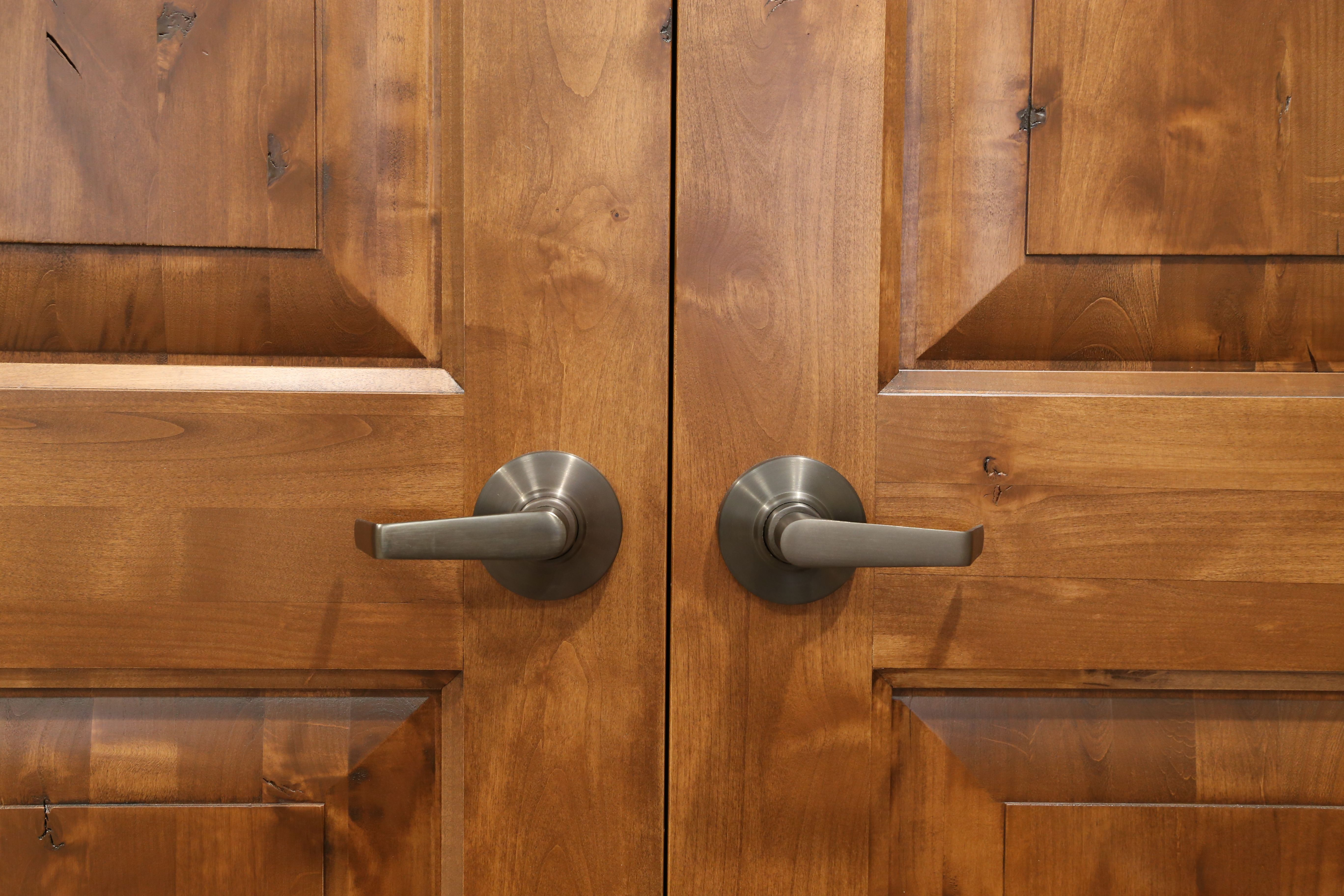 doors rustic wood knotty interior subpages alder